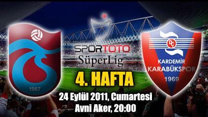Trabzonspor – K. Karabükspor maçını canlı izle