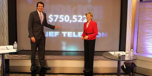 Ebru TV, Van'a yardım amacıyla Amerika'da 750 bin dolar topladı
