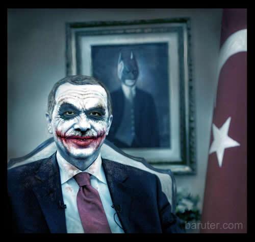 Atatürk Batman, Erdoğan Joker!