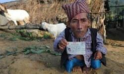 56 santimlik Nepalli, Guinness'e girecek