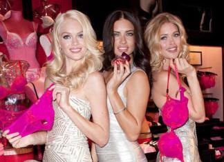 Victoria's Secret Angels Valentine's Day Event 2012