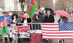 New York'ta Hocalı katliamını anma gösterisi düzenledi