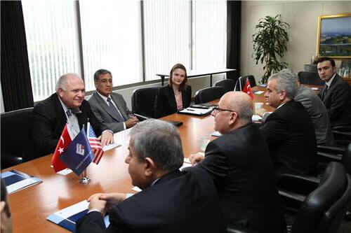 Los Angeles Bölge Ticaret Odası'nda Eskişehir ile ihracatın geliştirilmesi görüşüldü