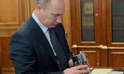 Putin'e hediye Vostok suyu