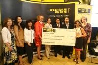 Western Union,'Ramazan 2012′ kampyası çerçevesinde 52 bin 500 dolar yardım topladı
