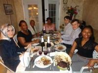 New York Milletvekili Clarke,Türk ailesi ile iftar yemeğinde buluştu
