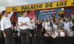 Romney'nin Miami çıkarmasında uyuşturucu skandalı