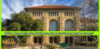 ABD Egitim icin Green Card