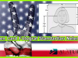 Green Card Yesil Kart Foto Standartlari