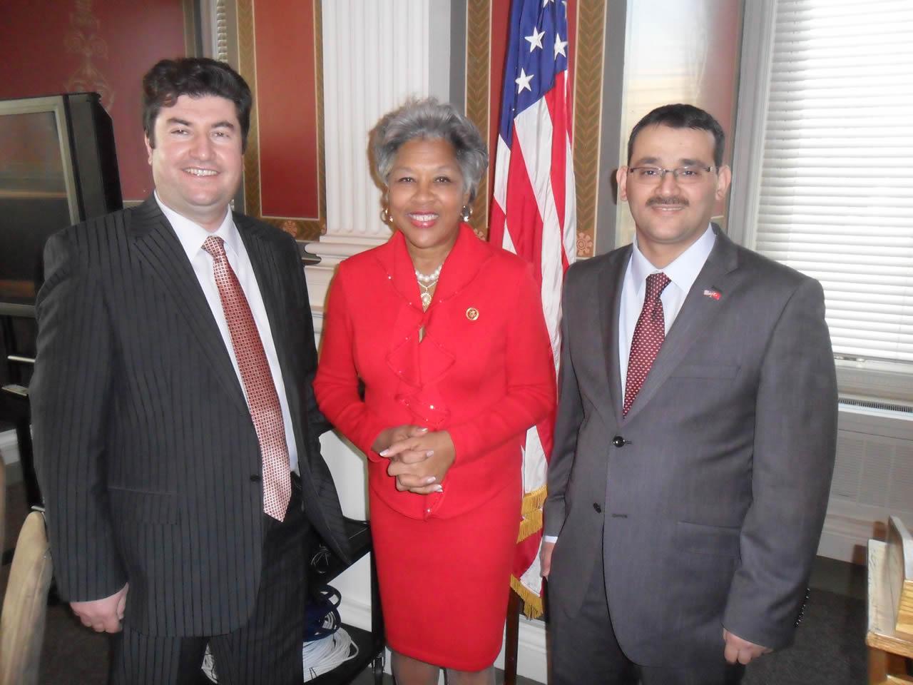 Ohio Türk-Amerikan Derneği, Temsilciler Meclisi'nin açılışı için Washington'a gitti