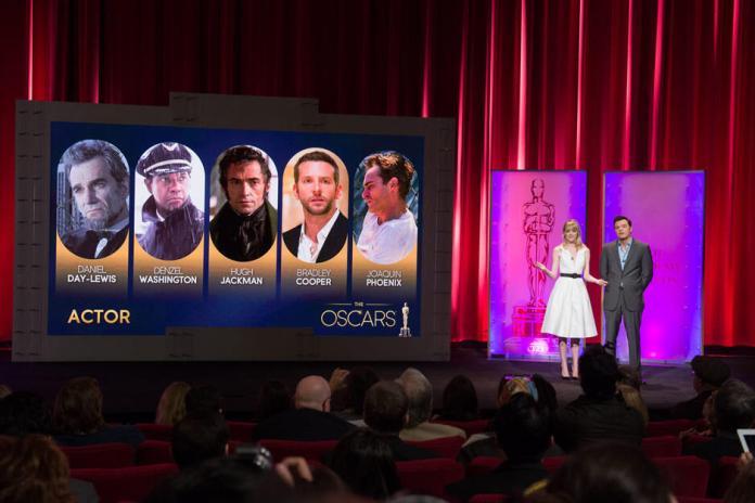 Actor - 85th Academy Awards -Oscars