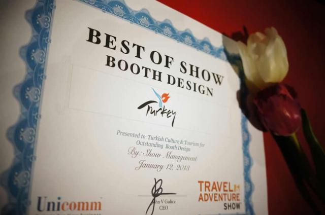 Travel and Adventure Show 2013 Long Beach Turkey