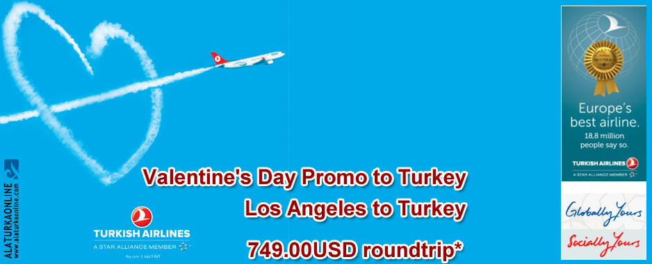 Valentine's Day Promo to Turkey