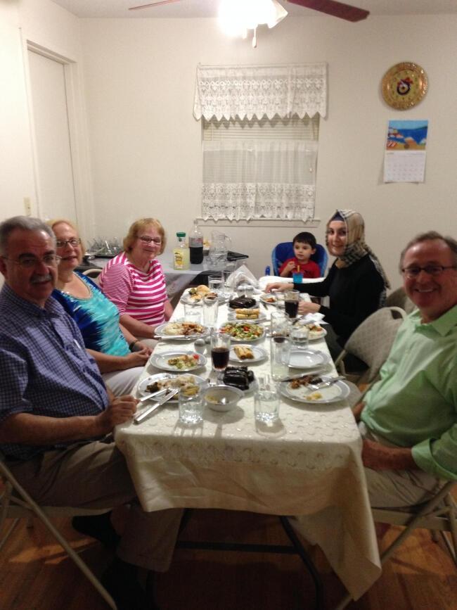 Connecticut'ta senatörleri buluşturan iftar