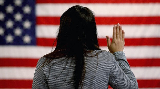 amerika vatandaslik yemin