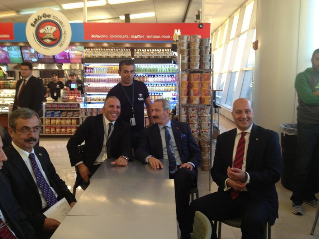 New York JFK Havaalanına Türk Mermeri
