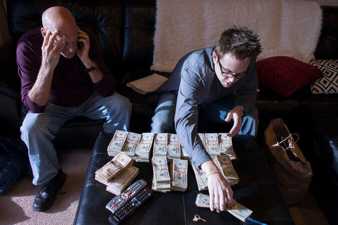 Bankalar esrar parasını istemiyor