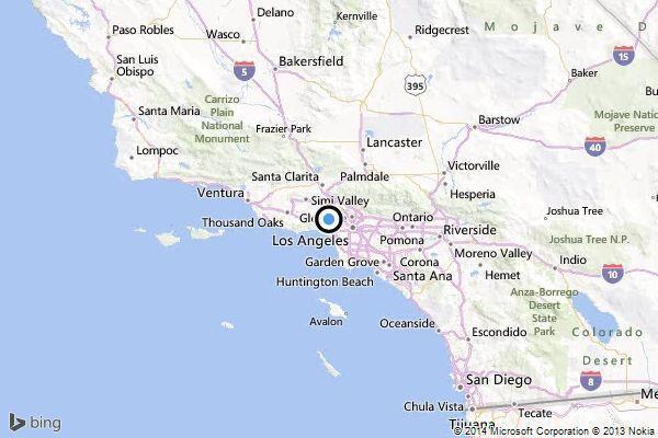 Los Angeles 4.4 şiddetinde depreme uyandı