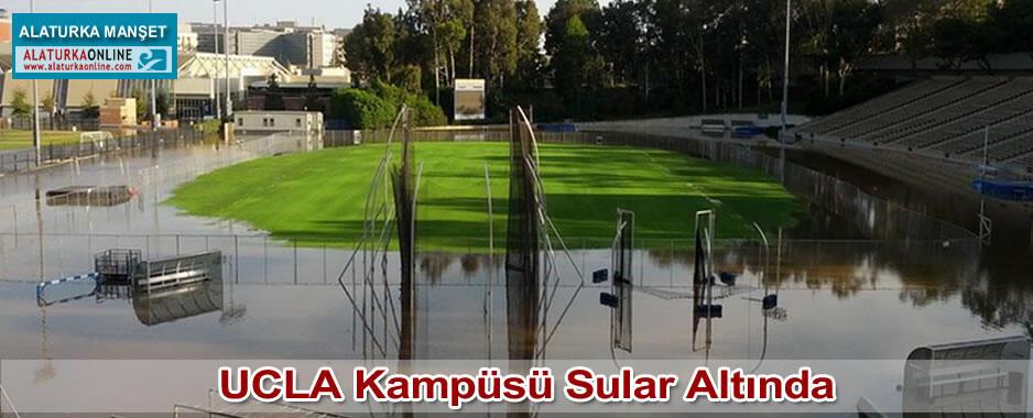 UCLA Kampüsü Sular Altında