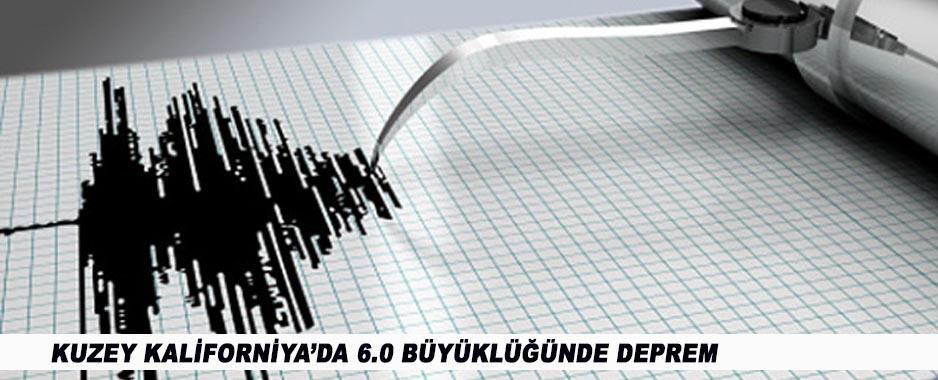 6.0'lık Deprem Kuzey Kaliforniya'yı Salladı