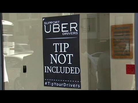 Uber Santa Monica'da protesto edildi