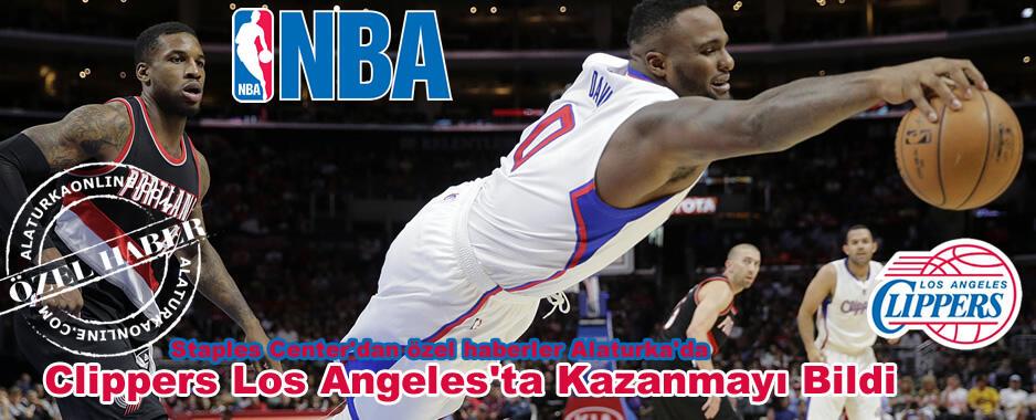Clippers Los Angeles'ta Kazanmayı Bildi
