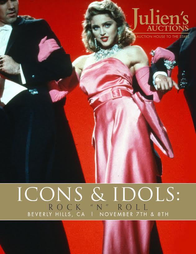 Madonna'nın kıyafetleri Los Angeles'ta 3,2 milyon dolara satıldı