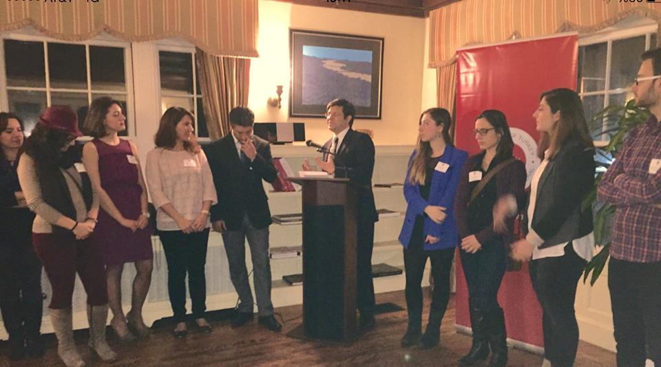 Boston Başkonsolosluğu'nda Öğrenciler Buluştu