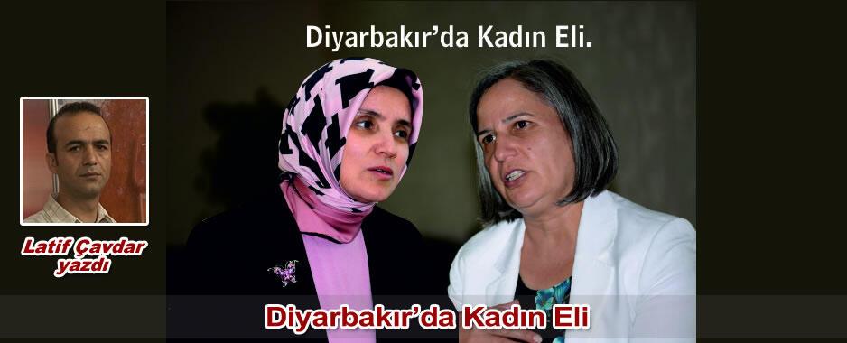 Diyarbakır'da Kadın Eli