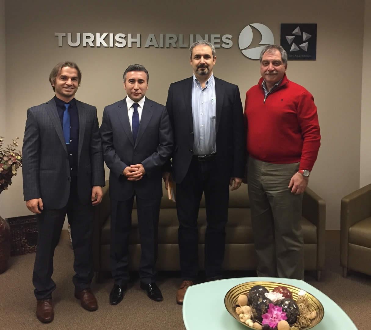 Watch-Us'tan Türk Hava Yolları Los Angeles Ofisine  Ziyaret