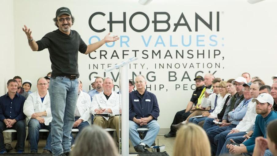 Chobani, Amerika'da En İyi İşverenler listesine girdi
