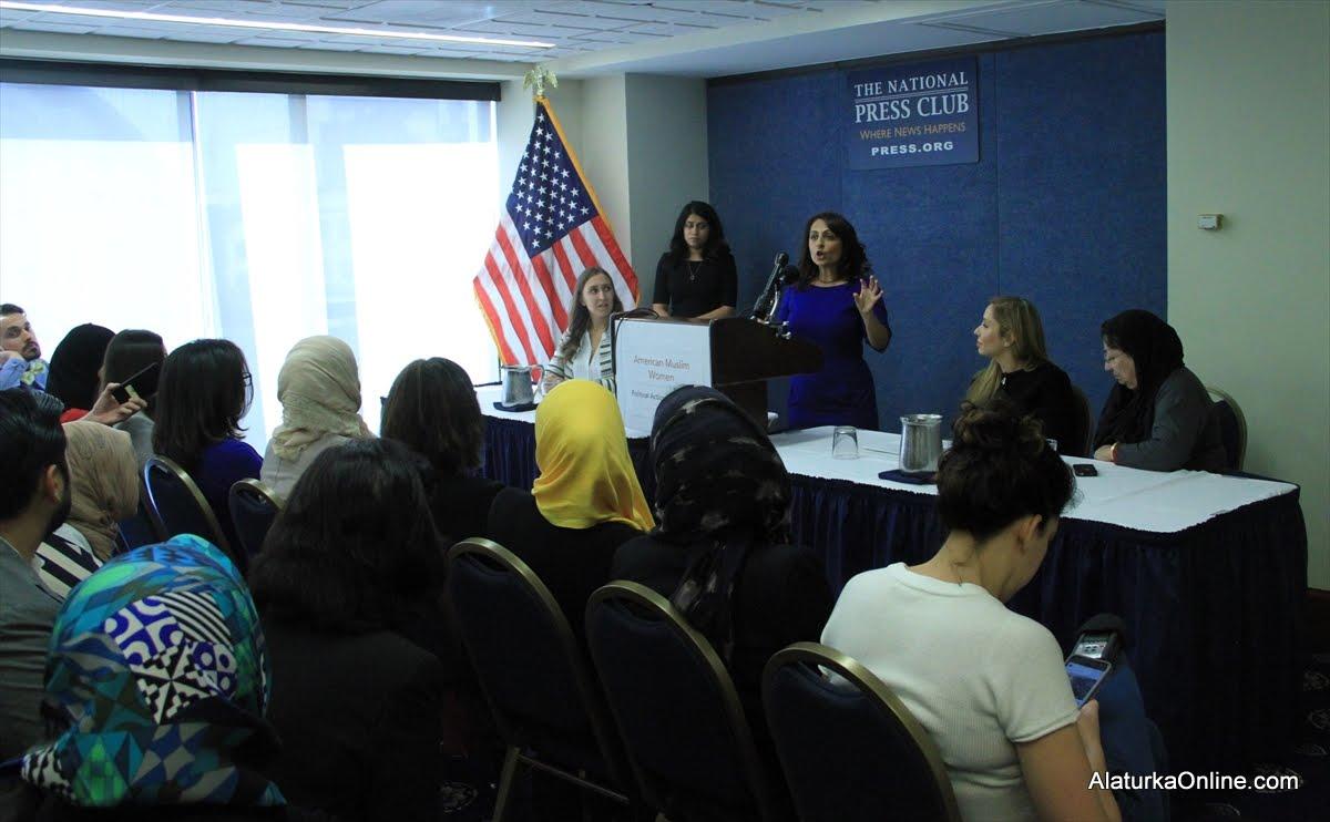 Amerikalı Müslüman Kadınlar Clinton dedi