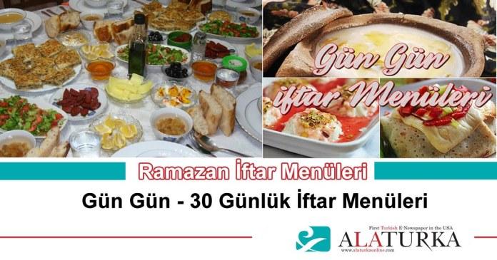 Ramazan Iftar Menuleri Yemekleri Gun Gun