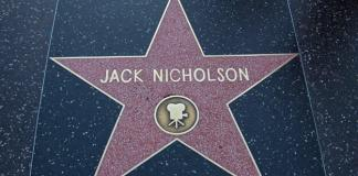 Hollywood Jack Nicholson Yildizi