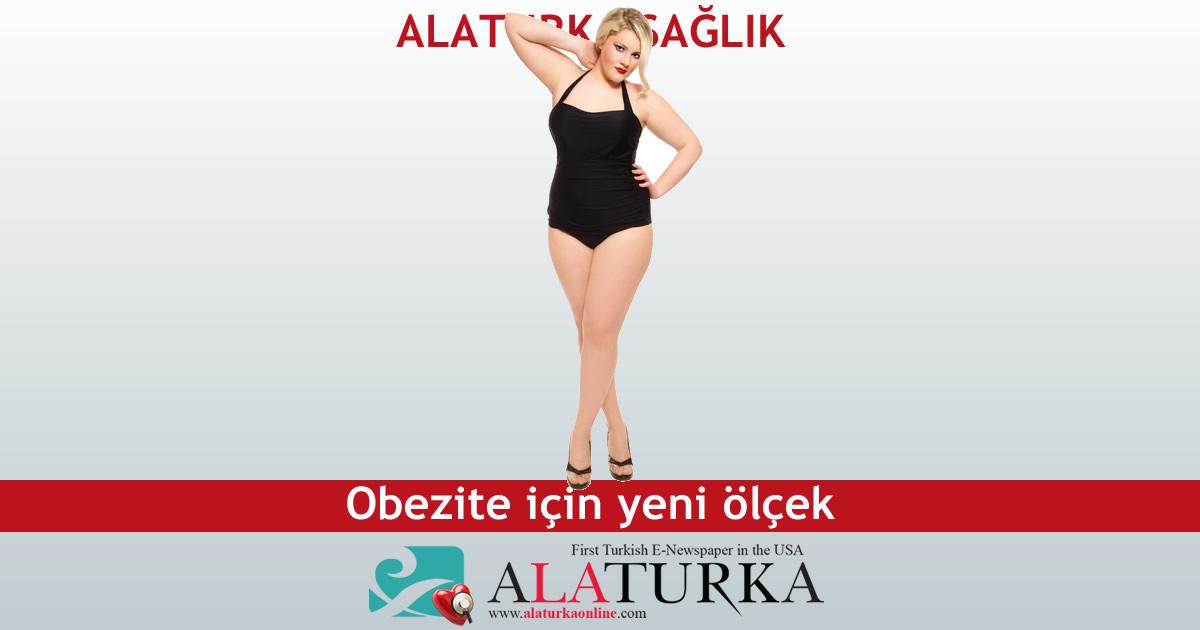 Obezite için yeni ölçek