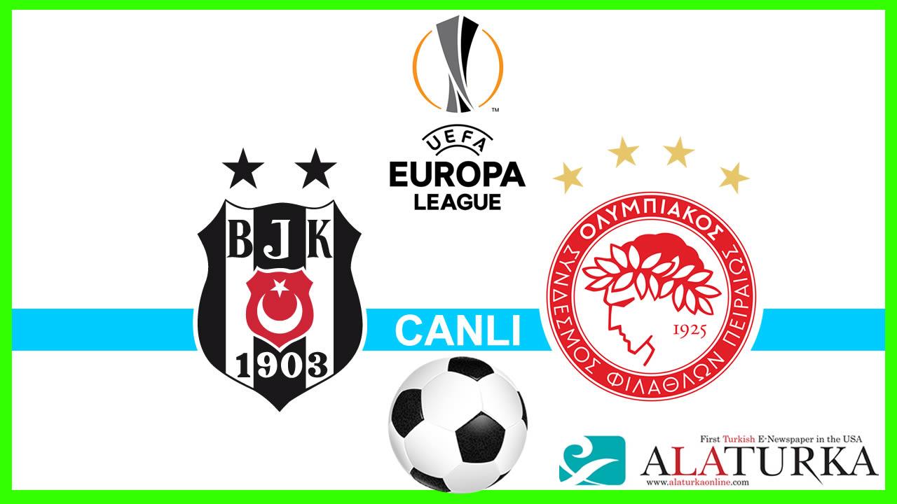 Beşiktaş – Olympiakos (CANLI)