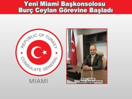 Yeni Miami Baskonsolosu Burc Ceylan