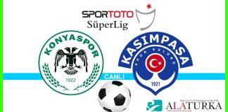 Konyaspor - Kasimpasa macini canli izle