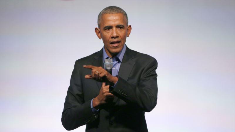 Eski Başkan Obama Yurtdışında Temaslarda