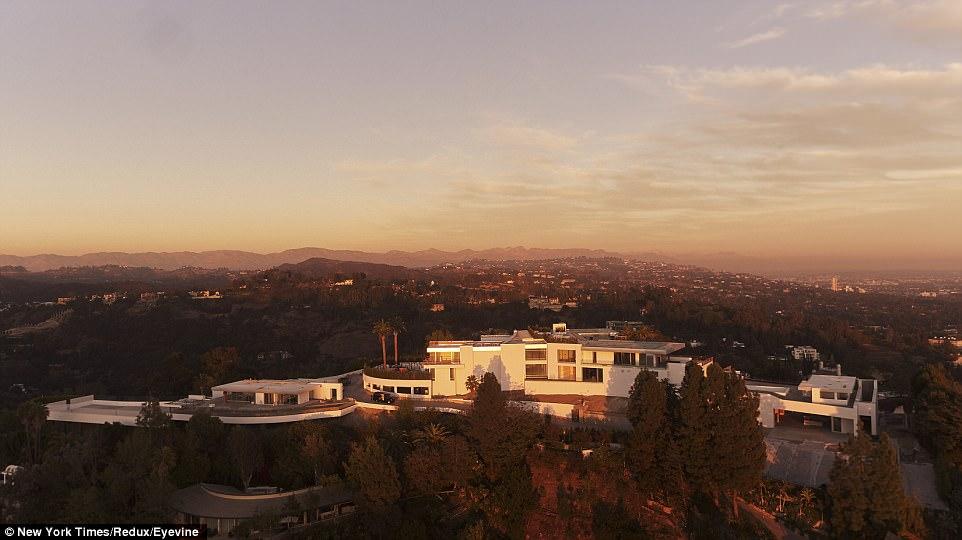 ABD'nin en pahalı evi Los Angeles'taki ONE bitmek üzere
