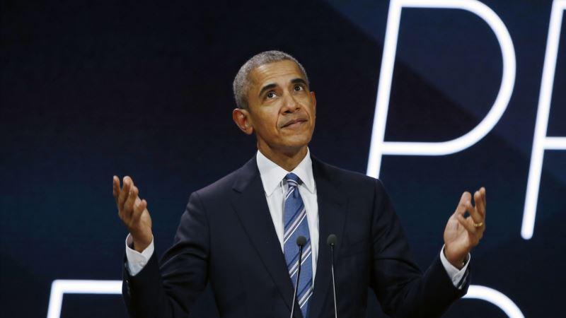 Obama Paris'ten Trump'ı Eleştirdi