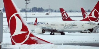 Turkish Airlines Snow Cancelled Flights New York