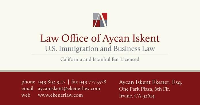 Aycan Iskent Amerika Avukat