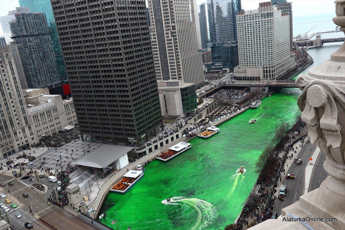 Chicago'da Aziz Patrick Günü kutlamaları
