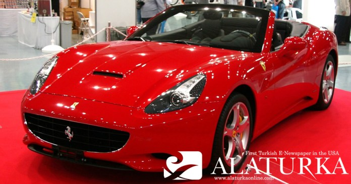 Red Ferrari California