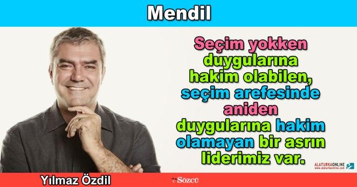 Mendil - Yilmaz Ozdil