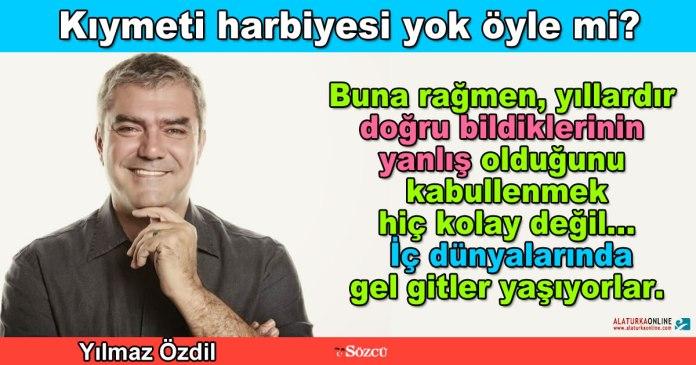 Kiymeti Harbiyesi Yok - Yilmaz Ozdil
