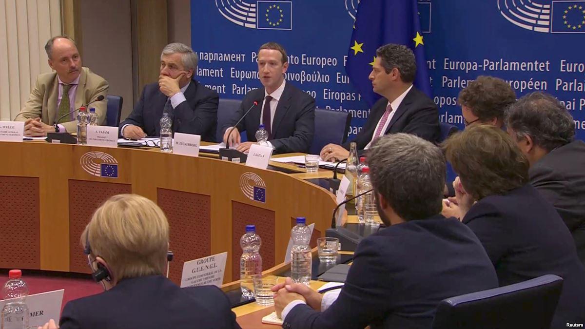 """Zuckerberg'den Avrupa'ya: """"Hata yaptık, özür dilerim !"""""""