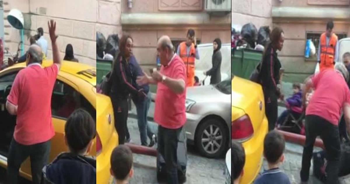 Taksiden Turisti atan şoför meslekten men edildi