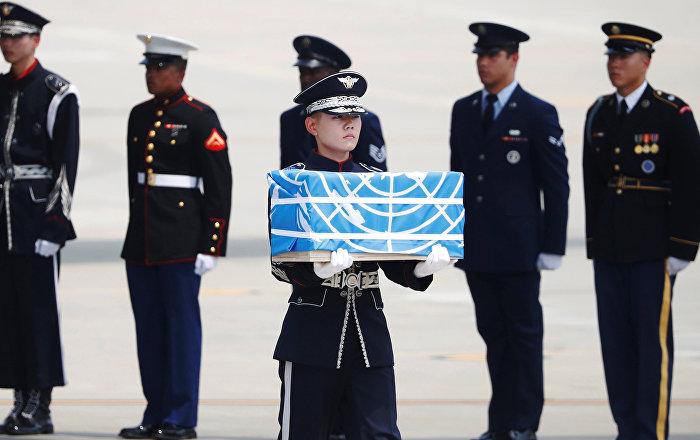 Kuzey Kore, Kore Savaşı'nda ölen ABD askerlerinin kalıntılarını gönderdi
